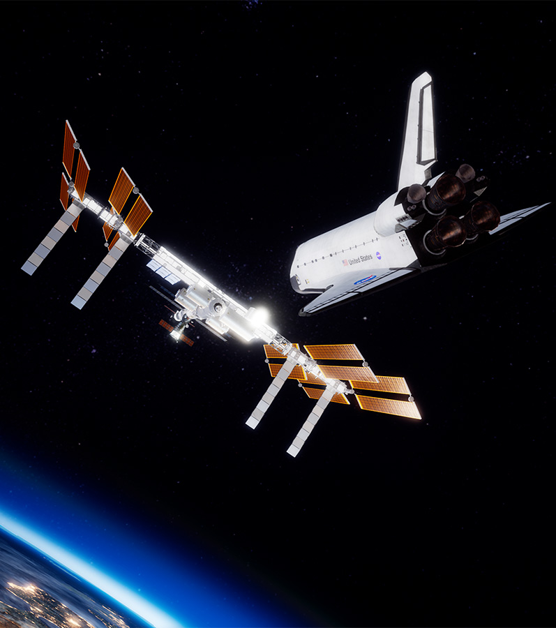 ISS Rescue - Destination la Station Spatiale Internationale